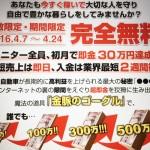 初月30万円稼げる、リスクなし、あなたは即決しますか?