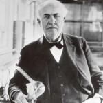 発明王トーマス・エジソンの言葉