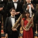 ベルギーのサクソフォン国際コンクールで、斉藤健太さんが1位、小澤瑠衣さんが2位の快挙